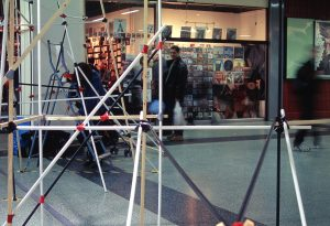 Provisional DIY at the Elephant and Castle shopping center, 2001.
